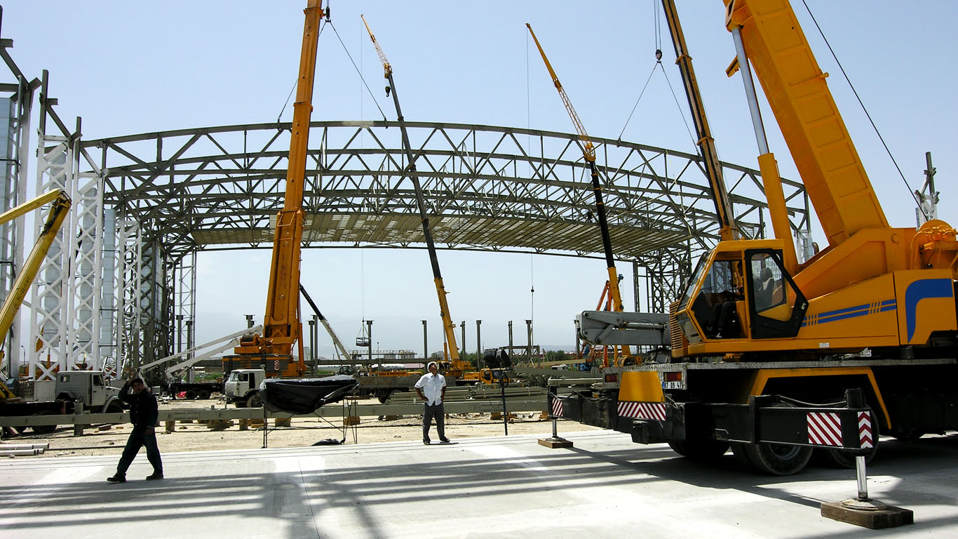 ASHGABAT AIRPORT HANGAR, APRON, TAXIWAY AND PARKING AREAS PROJECT - Turkmenistan / Ashgabad