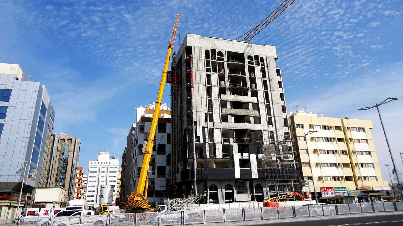 COMMERCIAL BUILDING PROJECT - UAE / Abu Dhabi