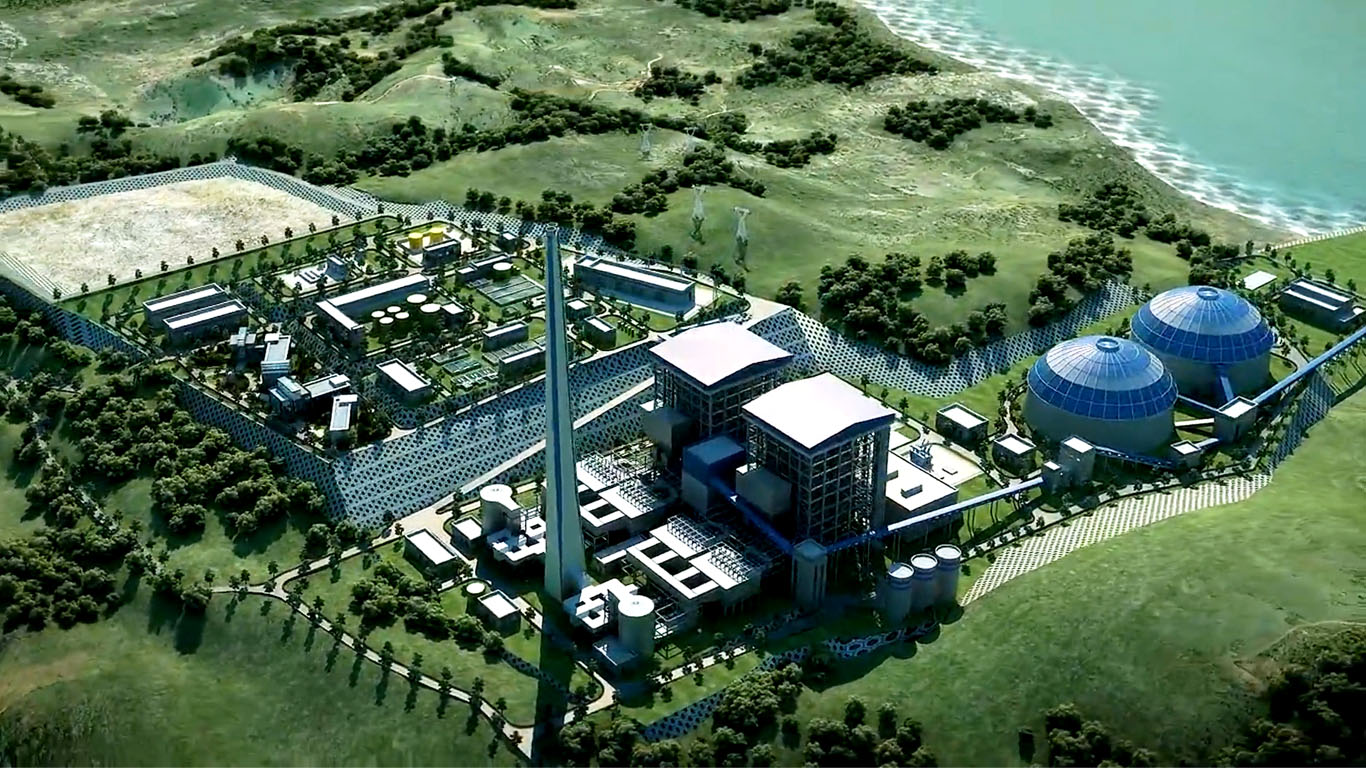 EMBA HUNUTLU 2x 660 MW COAL FIRED POWER PLANT PROJECT